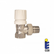 Nickel-plated thermostatic valve 178SN