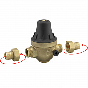 Multi-threaded  Pressure Reducing Valves PRECISIO